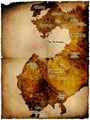 Antique Map of Ispar Labeled