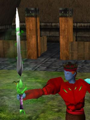 Major Dissolving Isparian Two Handed Sword