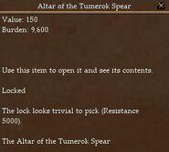 Altar of the Tumerok Spear