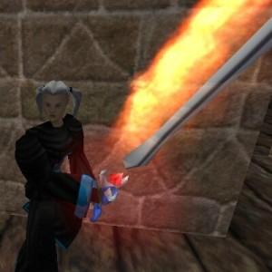 Enhanced Smoldering Atlan Two Handed Sword