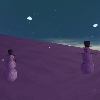 74.2S, 45.6E - Snowman Spawn