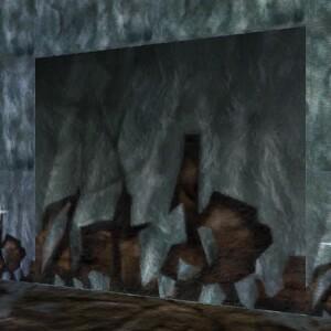 Frozen Stone Wall