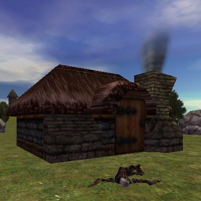 7.4S, 73.4E - Empty Cottage