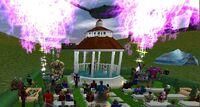 Wedding of Borelean and Hoshino Fireworks Live