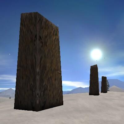 77.4S, 38.8E - Empyrean Standing Stones