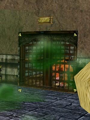 Spot's Cage Door
