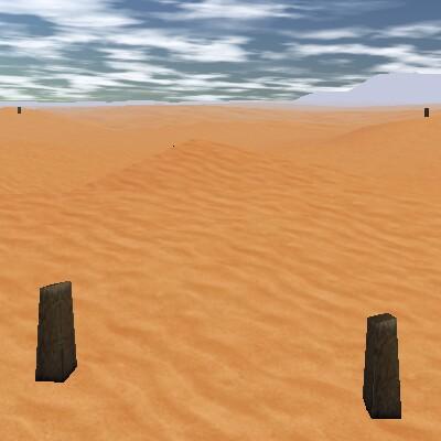 26.7S, 21.0E - Empyrean Standing Stones