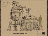 AC2 Human Beer Brewing Vats Sketch