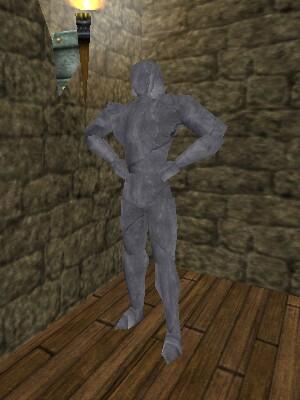 Gladiator Diemos Statue