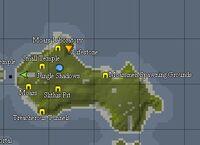 Avalelle Island Map