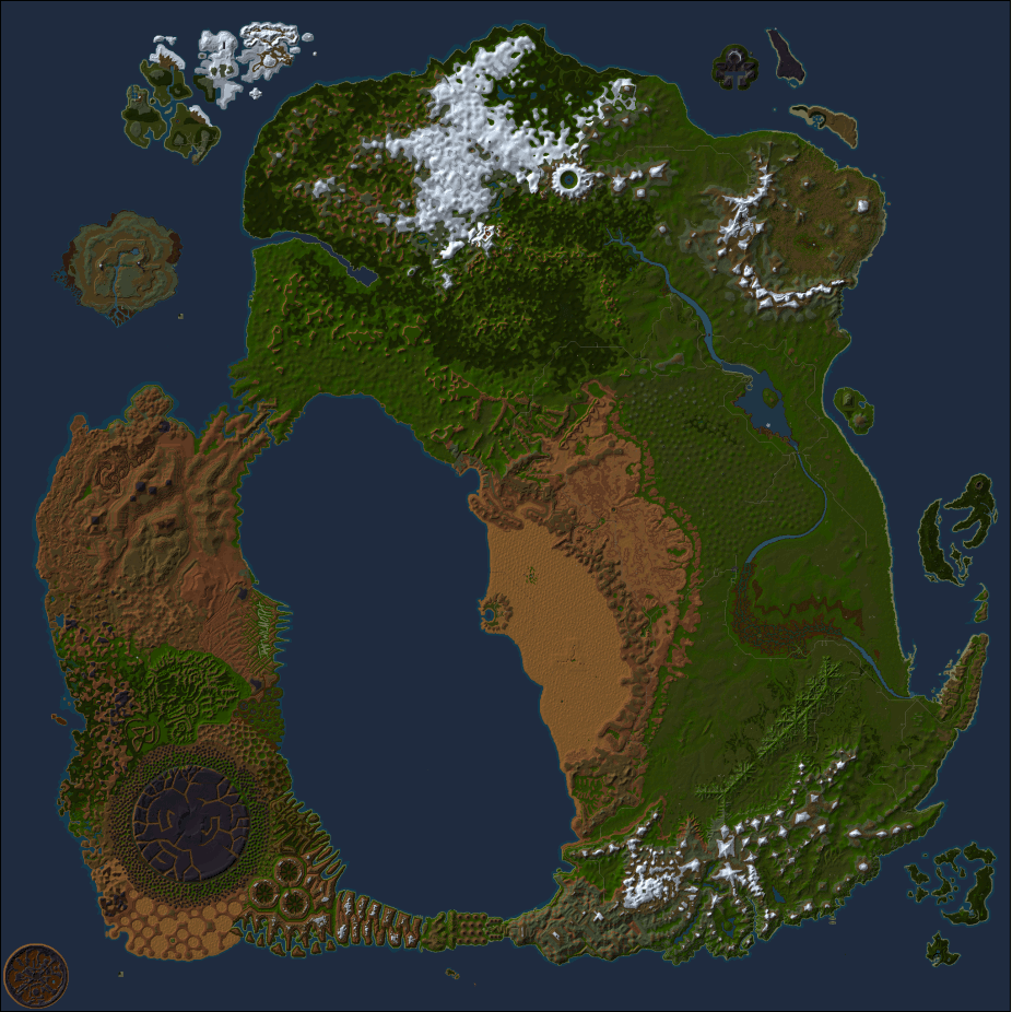 Scrolling Map