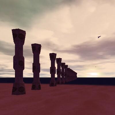 41.8S, 7.2E - Inner Sea Pillars