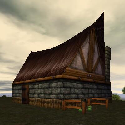 6.6S, 70.8E - Abandoned House