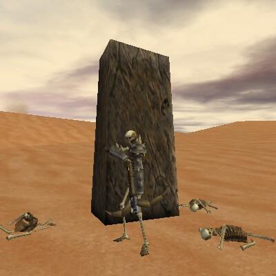 28.2S, 8.6E - Empyrean Standing Stone