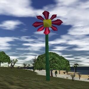 39.4S, 84.9E - Strange Giant Flower
