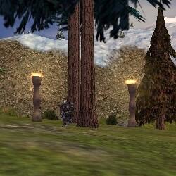 69.2S, 48.6E - Flaming Pillars