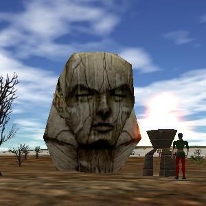 15.1S, 50.4E - Empyrean Stone Head