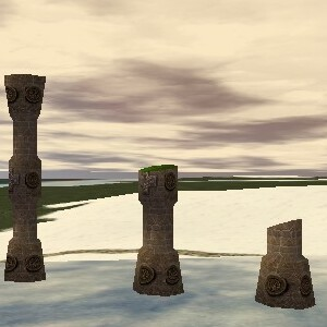 13.7S, 42.6E - Pillar Ruins