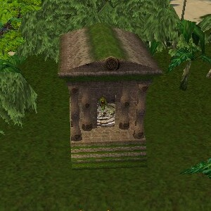 69.7S, 91.4E - Mosswart Temple