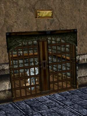Bubba's Cage Door