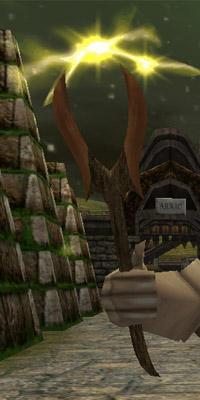 Oak Stormwood Wand