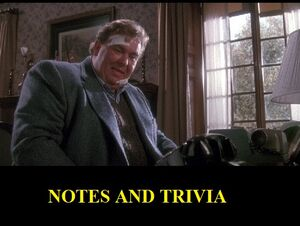 Notes and Trivia