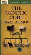 A the genetic code p