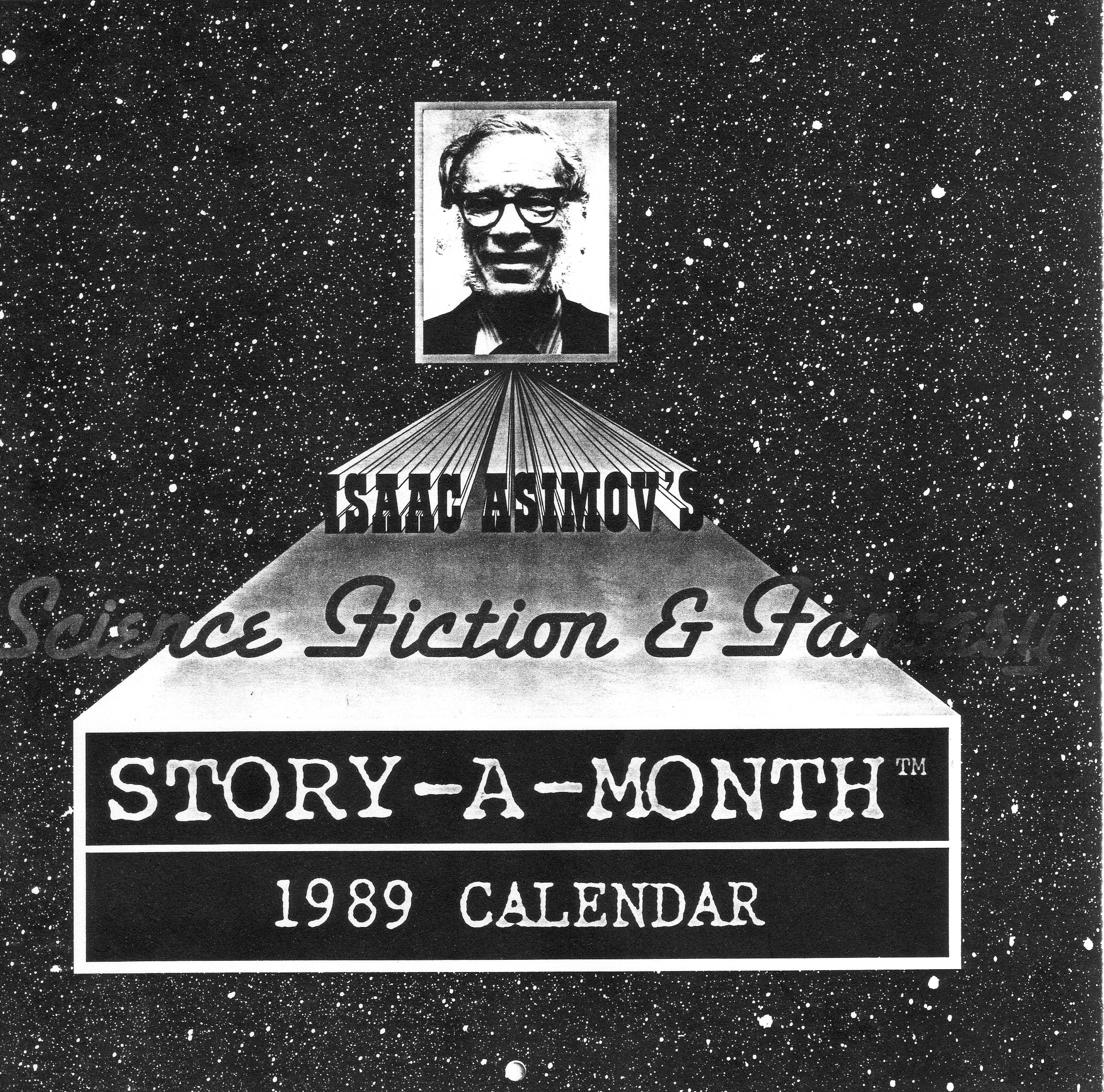 Isaac Asimov's Science Fiction and Fantasy Story-a-Month 1989 Calendar