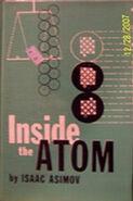 A inside the atom b