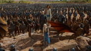 Dany Mhysa finale with army