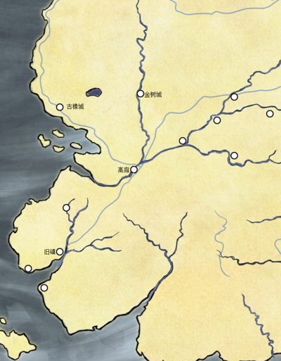 河湾地: 高庭位置