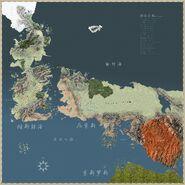 冰与火之歌世界地图