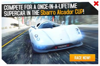 Sbarro Alcador Cup ad.png