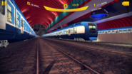 Munich Subway - Blue Trains
