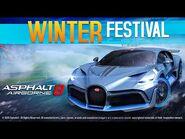 Asphalt 8 - Winter Festival - Bugatti Divo