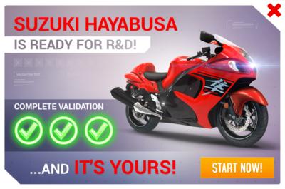 Suzuki Hayabusa R&D Promo.png