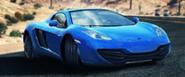 A8 McLaren 12C Spider in-game art