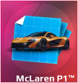 Gold Gift Box McLaren P1
