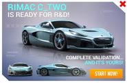 Rimac C Two R&D Promo
