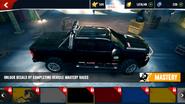 Chevrolet Silverado 2500HD decals 10 ax