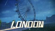 The London Eye pre-race