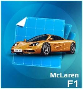 Gold Gift Box McLaren F1