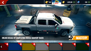 Chevrolet Silverado 2500HD decals 14 ax