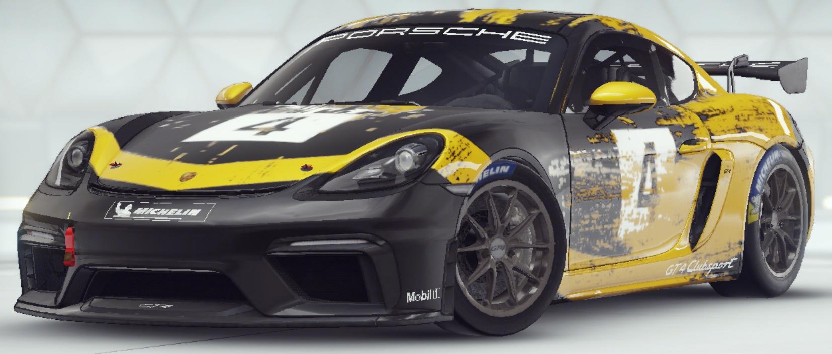 Porsche 718 Cayman Gt4 Clubsport Asphalt Wiki Fandom