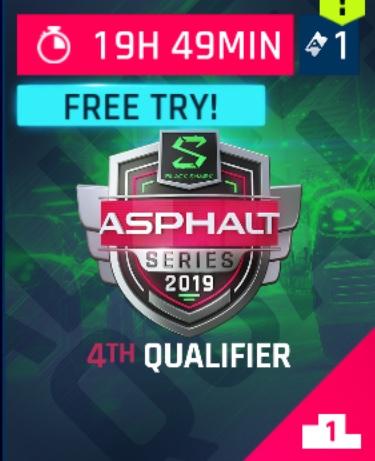 2019-07-01 Asphalt eSports Series Presented by Black Shark - Qualifier 4