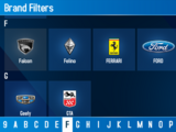 Car Search Filters