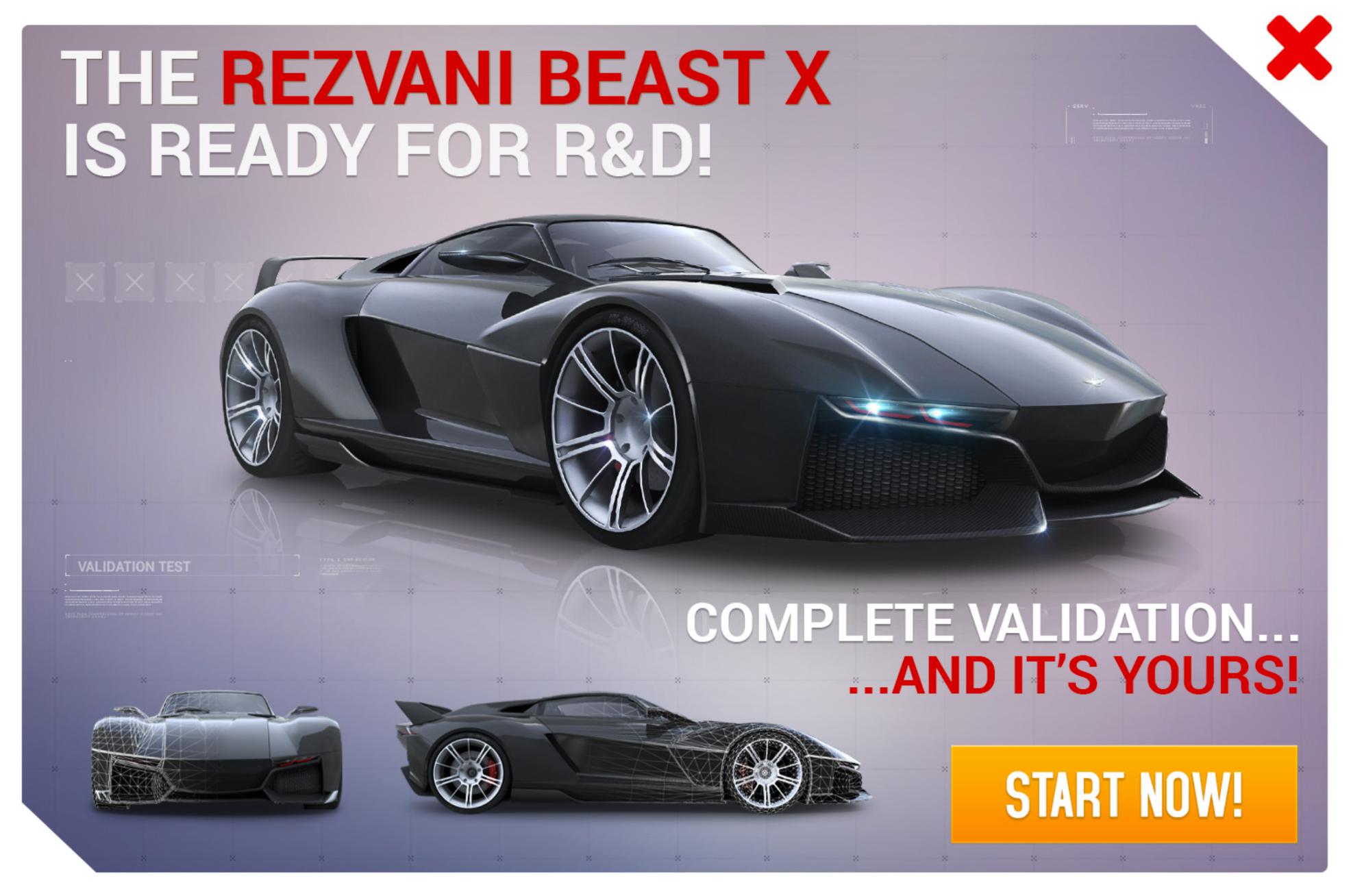 Rezvani Beast X (Research & Development)