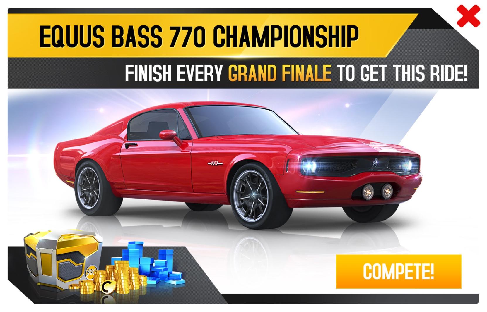 Equus Bass 770 (Championship)
