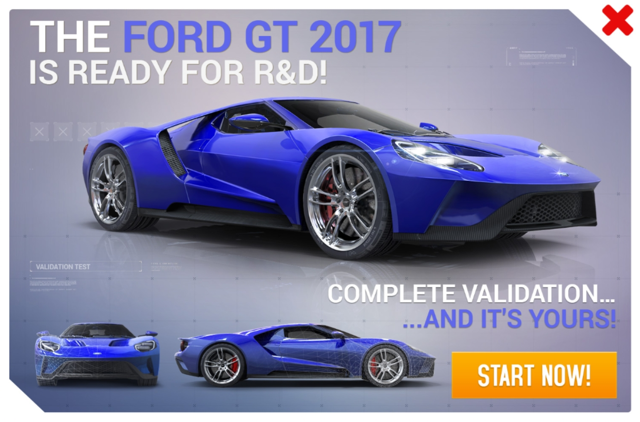 Ford GT (2017) (Research & Development)