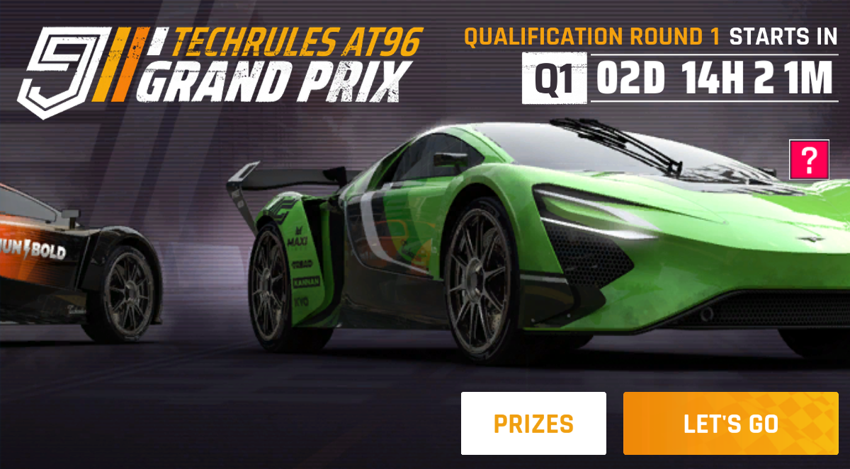 Techrules AT96 Track Version (Grand Prix)